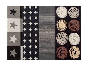 MERADISO® Teppich, 67 x 140 cm, für Fußbodenheizung geeignet, pflegeleicht, strapazierfähig