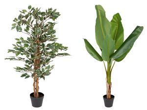 MELINERA® Kunstpflanze, 120 cm Höhe, flexibel formbare Zweige