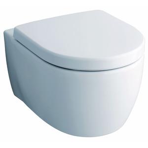 Tiefspül-Wand-WC 'iCon Rimfree' mit Sitz im Komplett-Set