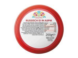 Russisch Ei in Aspik