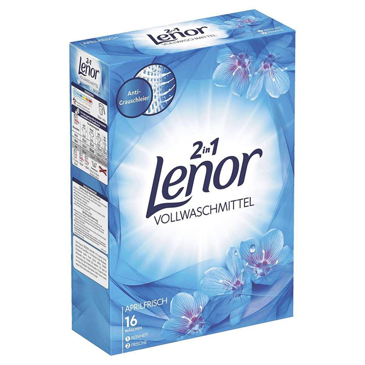 Bild 2 von Lenor 2in1 Vollwaschmittel Aprilfrisch 1,04kg