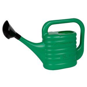 Gießkanne mit Brause 5L Grün