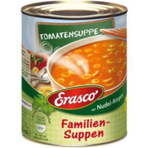 Erasco Feinschmecker-Eintöpfe oder Familien-Suppen