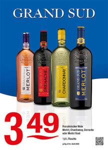 Grand Sud Französischer Wein Merlot, Chardonnay, Grenache oder Merlot Rosé