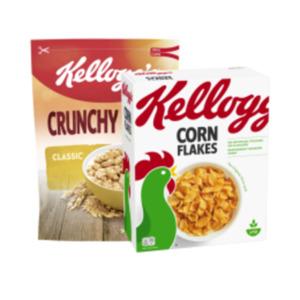 Kellogg's Frühstückscerealien oder Kellogg's Müsli