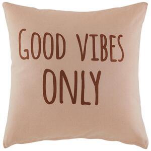 Zierkissen Good Vibes Only ca.45x45cm