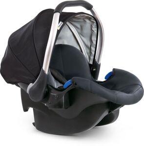 Hauck - Babyschale - Comfort Fix schwarz/grau