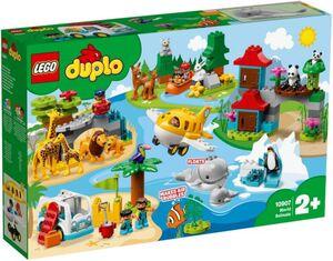 LEGO® DUPLO® Town 10907 - Tiere der Welt