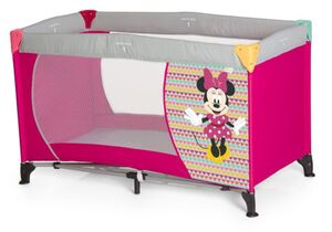 Hauck - Reisebett Dream'n Play - Minnie Mouse - Geo Pink