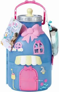 BABY born® Surprise - Bottle Playset - Haus Spielset mit 1 Puppe