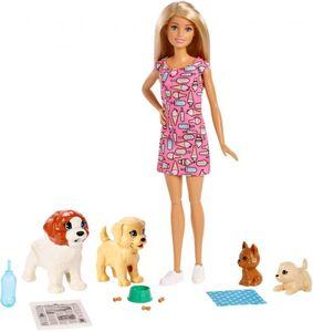 Barbie - Hundesitterin und Welpen