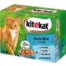 Bild 1 von Kitekat Fisch-Box in Gelee Katzenfutter nass Multipack 12x 100 g