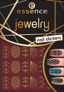 essence cosmetics Nagelsticker jewelry nail stickers 09