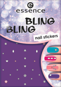 essence cosmetics Nagelsticker bling bling nail stickers 01