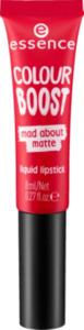essence cosmetics Lippenstift colour boost mad about matte liquid lipstick seeing red 07