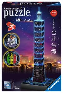 Ravensburger 3D Puzzle Tapei bei Nacht