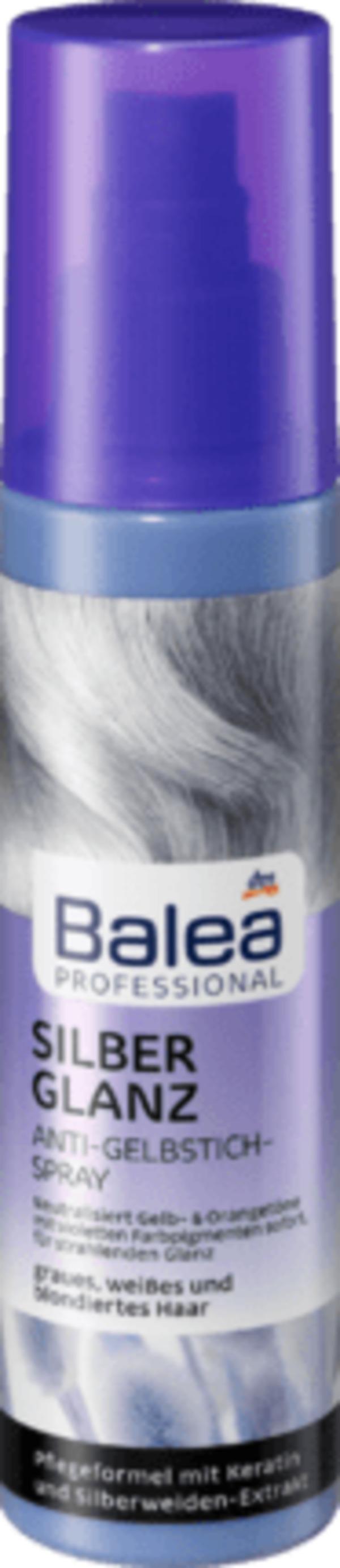 Balea Professional Anti-Gelbstich Spray Silberglanz