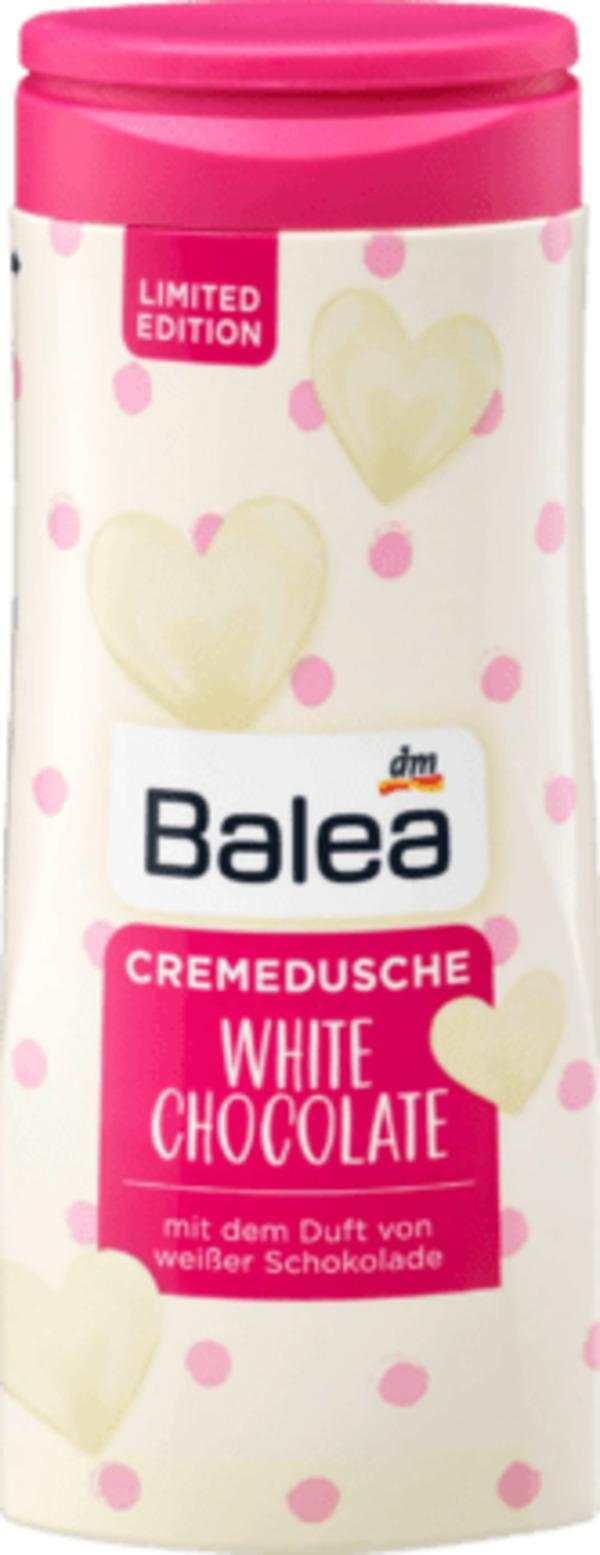 Balea Cremedusche White Chocolate