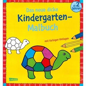 Das dicke Kindergarten-Malbuch, sortiert