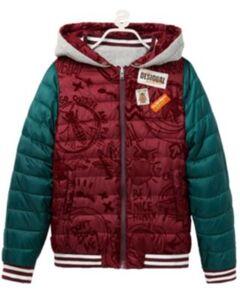 Winterjacke , College Style rot Gr. 134/140 Jungen Kinder
