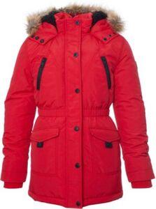 Winterparka mit Kunstfell-Kapuze  rot Gr. 176 Mädchen Kinder