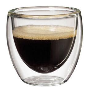 Cilio Espressoglas im Set, 80ml, 2-teilig