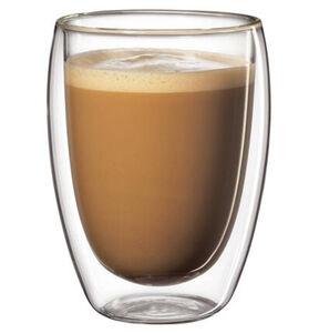 Cilio Milchkaffeeglas, 350ml, 2-teilig
