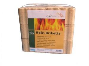 Holzbriketts 10 kg Nadelholzspäne, eckig