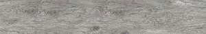 Feinsteinzeug 2.0 Corteccia grigio rett 20,3 x 122 cm, Stärke: 9,5 mm, Abr. 5, R 10, grau