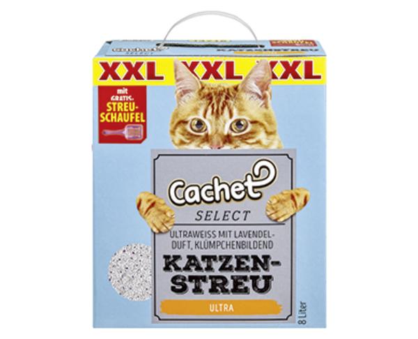 Cachet SELECT XXL Katzenstreu mit Streuschaufel