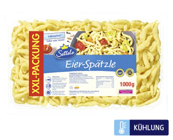 Settele XXL Eier-Spätzle