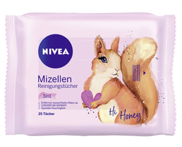 NIVEA Mizellen Reinigungstücher 3-in-1