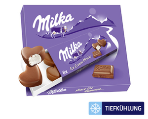Mondelez Oreo Ice Cream Bites oder Milka Ice Cream Hearts