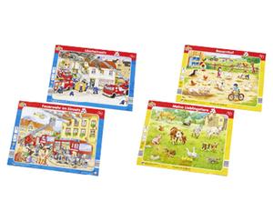 Playland Rahmen-Puzzle Doppelpack