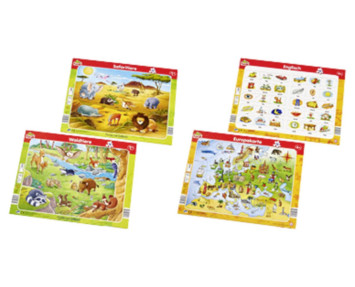 Bild 2 von Playland Rahmen-Puzzle Doppelpack