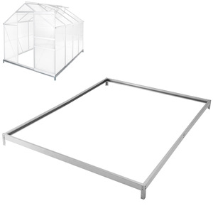 Fundament für Gewächshaus 250 x 190 x 12 cm