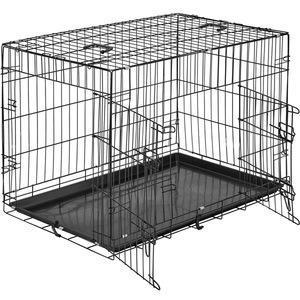 Hundebox Gitter tragbar 89 x 58 x 65 cm