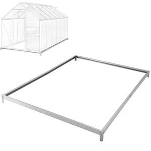 Fundament für Gewächshaus 375 x 190 x 12 cm