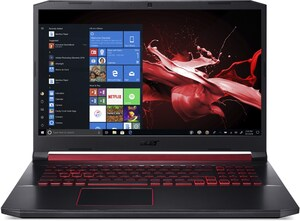 "Nitro 5 (AN517-51-550B) 43,94 cm (17,3"") Gaming Notebook schwarz/rot"