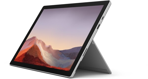Surface Pro 7 (128GB) Tablet platinum