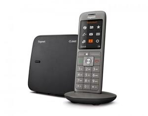 Gigaset schurlos Telefon CL660 ,  schwarz