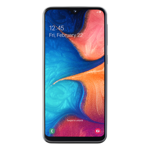 "Samsung Galaxy A20e 32GB Dual-SIM Schwarz [14,42cm (5,7"") LCD Display, Android 9.0, 13+5MP Dual Hauptkamera]"