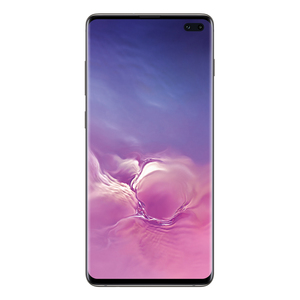 "Samsung Galaxy S10+ 128 GB Prism Black EU [16,35cm (6,4"") OLED Display, Android 9.0, 12+16+12MP Triple Hauptkamera]"