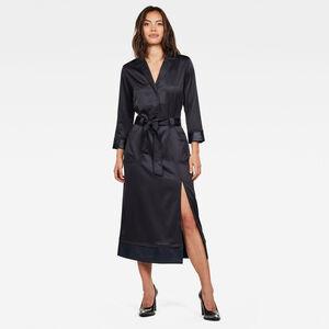 Workwear PJ Midi Kleid