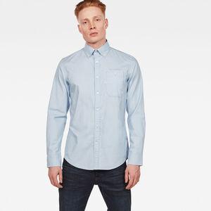 Bristum Button Down Pocket Slim Hemd