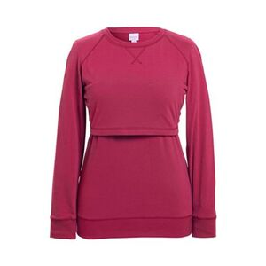 Boob®     Umstands- und Still-Pullover B-Warmer GOTS Purple