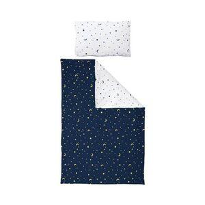 BORNINO HOME     Kinderbettwäsche Mond und Sterne