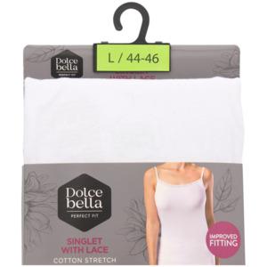 Dolce Bella Trägershirt mit Spitze