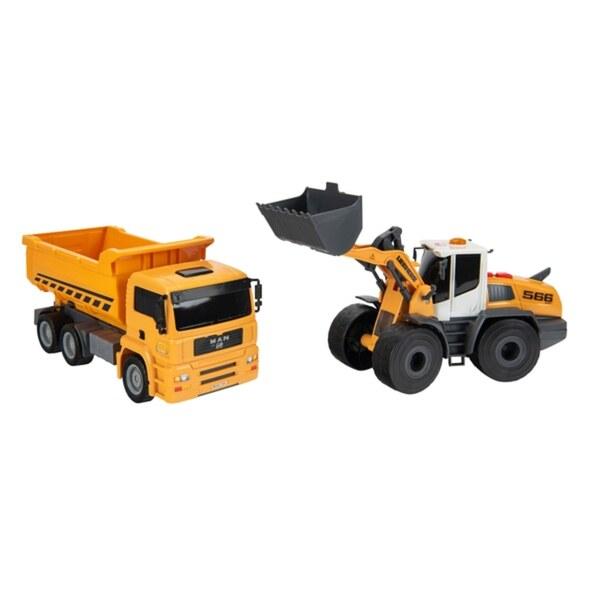 Dickie Toys - Liebherr Twin Pack