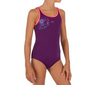Badeanzug Heva+ Vegi Mädchen violett